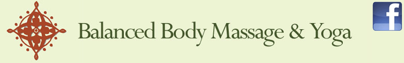massage yoga logo